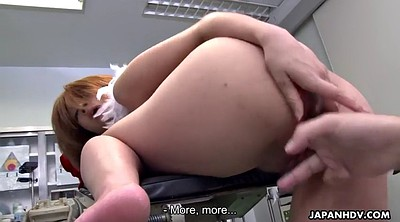 Japanese girl, Japanese gynecologist, Asian doctor, Japanese doctor, Cum on tits