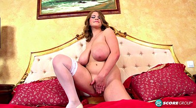 Milk, Stockings, Huge tits, Solo stockings, Stockings hd, Chubby solo