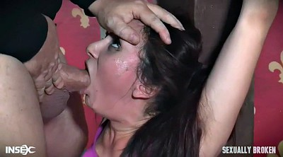 Strapon, Femdom blowjob, Mandy, Face fuck, Fuck face, Extreme throat