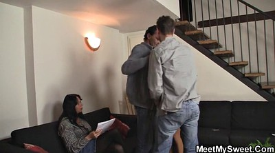 Couple threesome, Young couple, Seducing, Czech couples, Czech couple