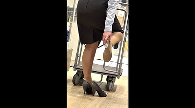 Shop, Mature feet, Mature pantyhose, Shops, Shopping, Pantyhose mature