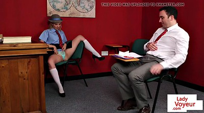 Schoolgirl, Instructions, Femdom instruction, Classmate