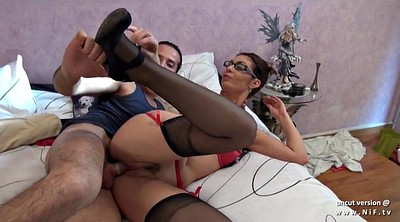 Anal, French anal, Cream, French milf, Taxi anal