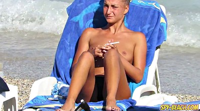 Teen hd, Topless, Beach voyeur