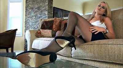 Pantyhose feet