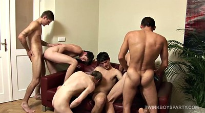 Gay anal, Skinny gangbang, Party hardcore, Leather, Gay group sex