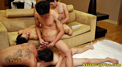 Asian gay, Gay piss, Hd anal