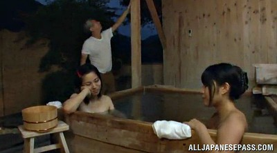 Asian, Old man, Sauna, Asian granny, Asian old man