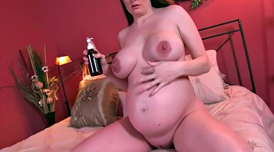 Nipple, Big nipples, Jerk off, Pregnant milf