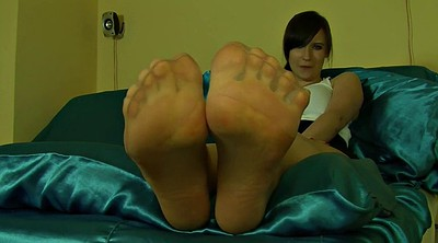 Nylon foot, Nylon feet, Nylons, Foot sole