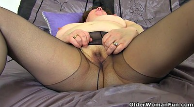 Nylons, Mature strip, Nylon fuck, Black old