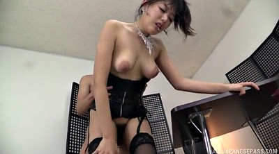 Leather, Stocking, Japanese stockings, Humping, Japanese stocking, Japanese licking
