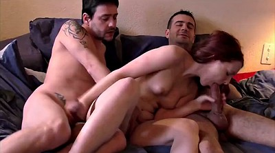 Group, Casting anal, Threesome casting