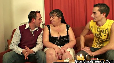 Mommy, Threesome mature, Plump