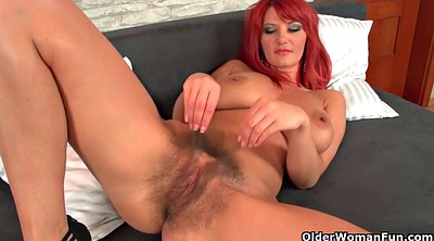Mature massage, Work, Redhead hairy, Pussy massage, Mature hairy pussy, Hairy pussy masturbating