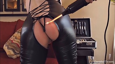 Leather, Vibrate, Clothed sex