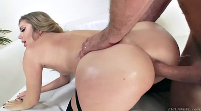 Blonde, Workout, Before, Balls, Ball anal, Anal chubby