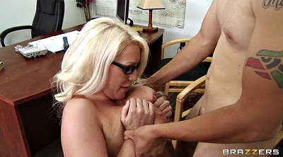 Teacher, Gag, Blonde glasses