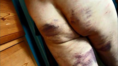 Caning, Spanked, Bed, Femdom spanking