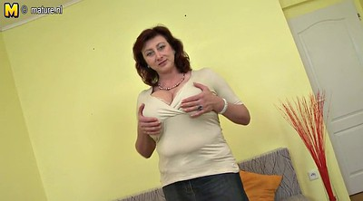 Mature, Mother, Breast