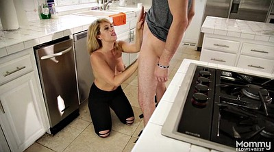 Mom blowjob, Mature moms