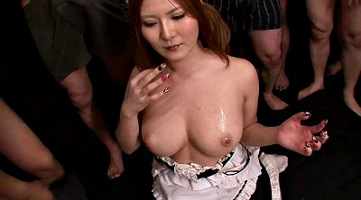 Asian bukkake, Japanese bukkake, Japanese cumshot