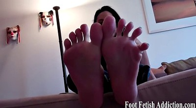 Foot licking