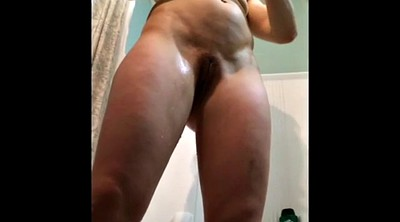 Hidden wife, Hidden shower, Nice body