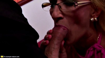 Mature, Young creampie, Boy