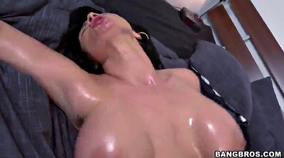 Oiled anal, Oily