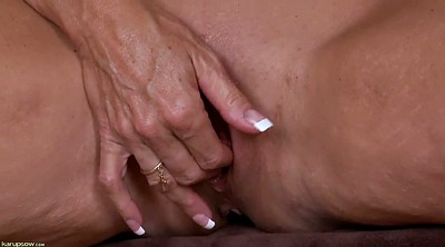 Mature solo, Short, Solo mature, Solo fingering, Short hair mature, Mature short hair