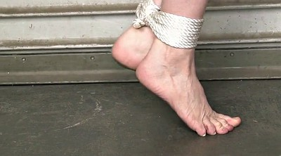 Tied, Standing, Barefoot