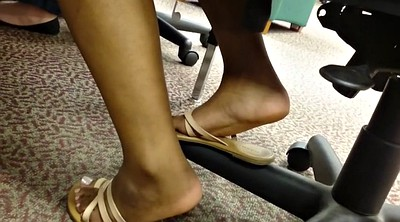 Friend, Ebony feet, Shoes, Shoe, Milf feet