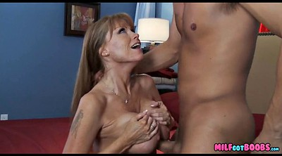 Young, Old pussy, Big tit milf