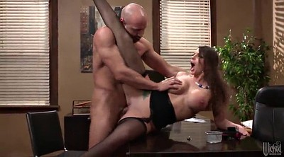 Brooklyn chase, Finger, Office sex