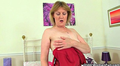 Nylon granny, British mature