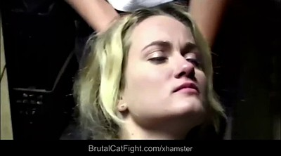 Fight, Fuck, Catfight, Hard spanking, Catfights