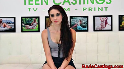 Casting anal, Brutal, Casting anal teen