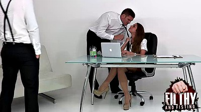 Office anal, Fist anal
