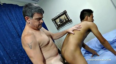 Dad, Daddy old, Asian old, Asian boy, Asian gay, Mike