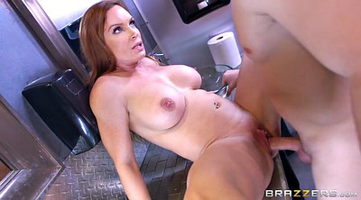 Toilet, Diamond foxxx, Big boobs milf
