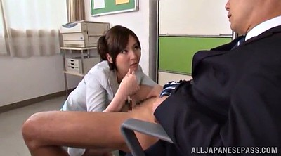 Asian pantyhose, Asian office, Pantyhose handjob, Asian big cock