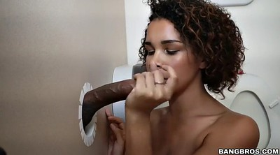 Toilet, Tits, Raven, Black woman
