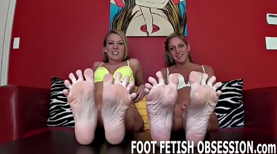 Surprised, Foot worship