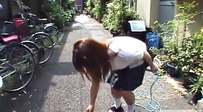 Japanese schoolgirl, Japanese public, Japanese uniform, Japanese outdoor, Japanese panty