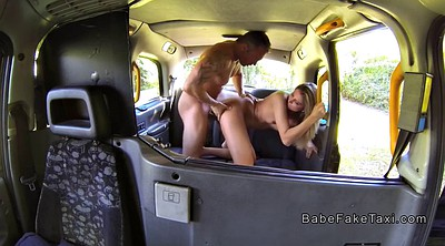 Car, Female taxi, Female, Public fucking