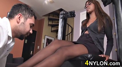 Ebony feet, Hot feet
