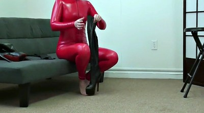 Red, Catsuit