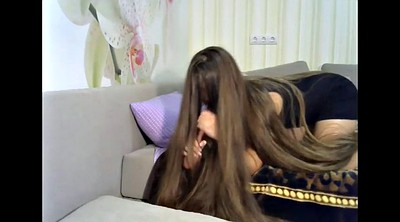 Long hair, Webcam