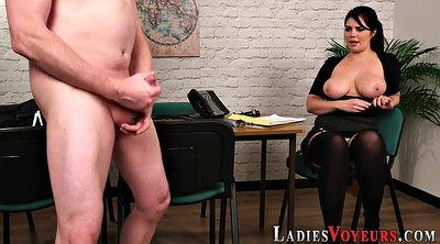 Cfnm, Mistress, Big tits heels, Office boss, Boss office, Big boss